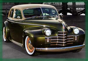 1940 Olds 90 series hot rod